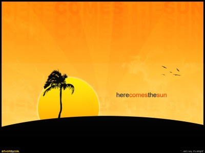 Here comes the sun wallpapers | Here comes the sun stock photos