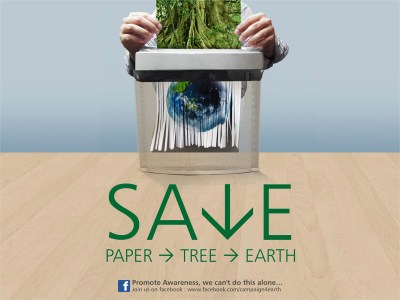 Save Paper Save earth wallpapers   Save Paper Save earth stock photos