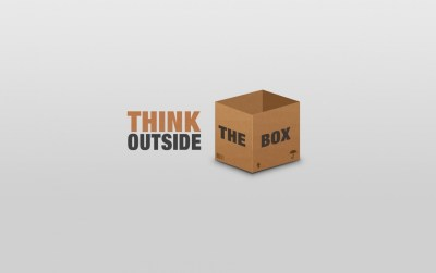 Think Outside The Box wallpapers | Think Outside The Box stock photos