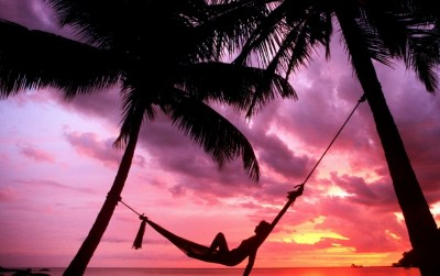 Sunset Beach Hammock Chillout wallpapers | Sunset Beach ...