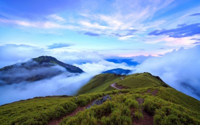 Nice Mountain Top Clouds Foggy wallpapers | Nice Mountain Top Clouds Foggy stock photos