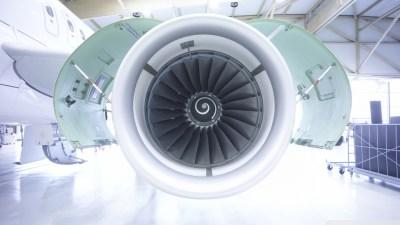 Aircraft Engine 4K HD Desktop Wallpaper for 4K Ultra HD TV • Tablet • Smartphone • Mobile Devices