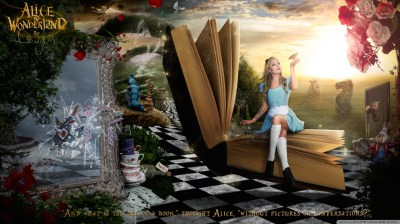 Alice in Wonderland 2016 4K HD Desktop Wallpaper for 4K Ultra HD TV • Tablet • Smartphone ...