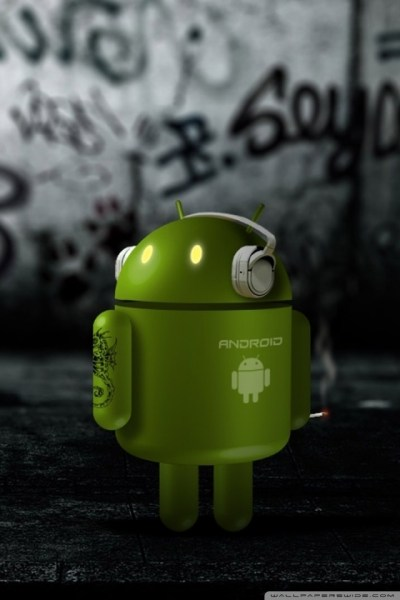 Android Robot Listening To Music 4K HD Desktop Wallpaper for 4K Ultra HD TV • Wide & Ultra ...