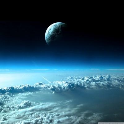 Beautiful Space View 4K HD Desktop Wallpaper for 4K Ultra HD TV • Tablet • Smartphone • Mobile ...