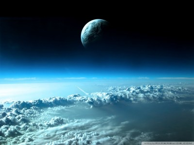 Beautiful Space View 4K HD Desktop Wallpaper for 4K Ultra HD TV • Tablet • Smartphone • Mobile ...