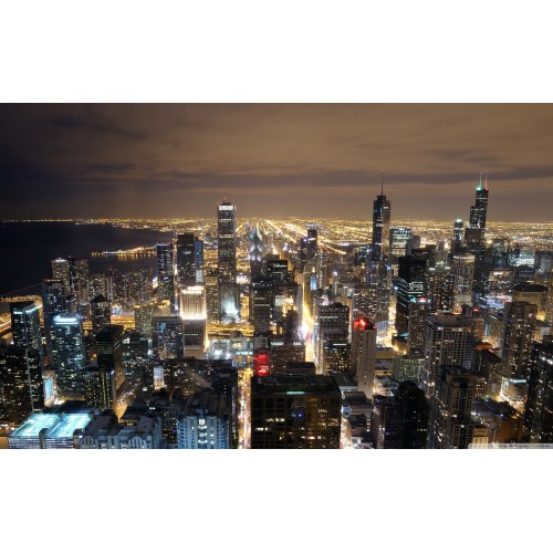 Medium Crop Of Chicago Skyline Wallpaper