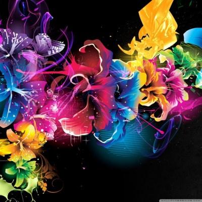 Colorful Flowers 4K HD Desktop Wallpaper for 4K Ultra HD TV • Tablet • Smartphone • Mobile Devices