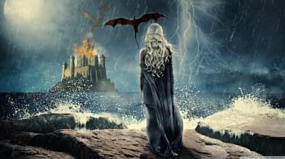Daenerys Targaryen Painting 4K HD Desktop Wallpaper for 4K Ultra HD TV • Wide & Ultra Widescreen ...