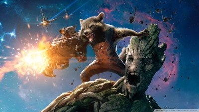 Guardians Of The Galaxy Groot And Rocket Raccoon 4K HD ...