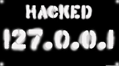 Hacked 127.0.0.1 4K HD Desktop Wallpaper for 4K Ultra HD TV