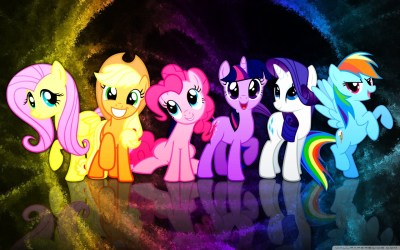 My Little Pony Mane 6 4K HD Desktop Wallpaper for 4K Ultra HD TV • Tablet • Smartphone • Mobile ...
