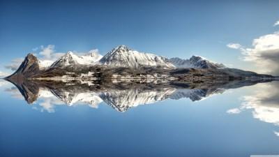 Norway Mountains 4K HD Desktop Wallpaper for 4K Ultra HD TV • Wide & Ultra Widescreen Displays ...