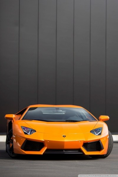 Red and Orange Lamborghini Aventador 4K HD Desktop Wallpaper for 4K Ultra HD TV • Tablet ...