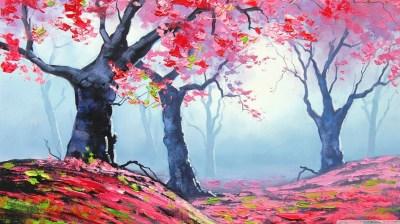 Spring Painting 4K HD Desktop Wallpaper for 4K Ultra HD TV • Wide & Ultra Widescreen Displays ...