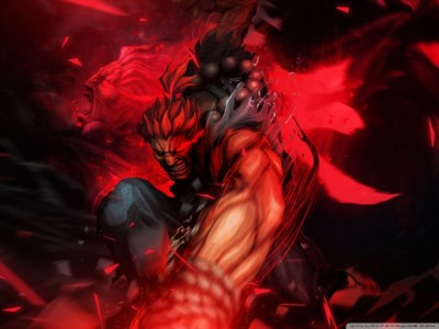 Street Fighter X Tekken - Akuma 4K HD Desktop Wallpaper for 4K Ultra HD TV • Wide & Ultra ...