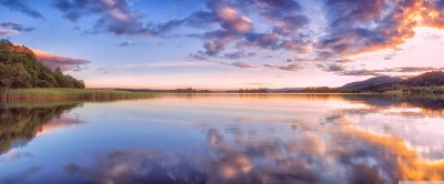 Sunset, Lake of Menteith, Trossachs, Scotland 4K HD Desktop Wallpaper for 4K Ultra HD TV • Wide ...