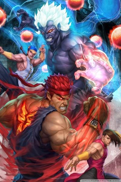 Super Street Fighter Arcade Edition 4K HD Desktop Wallpaper for 4K Ultra HD TV • Wide & Ultra ...