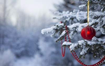 Winter Christmas Desktop Backgrounds ·①