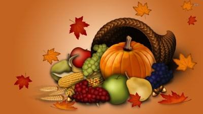 Thanksgiving Background Wallpaper ·①