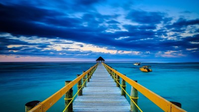 Blue Ocean Background ·① WallpaperTag