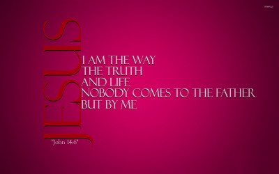 Christian Wallpaper with Scripture ·①