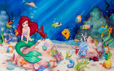 The Little Mermaid Wallpapers ·① WallpaperTag