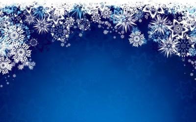 Snowflake Desktop Wallpaper ·①