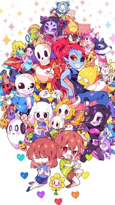 Undertale phone wallpaper ·① Download free backgrounds for desktop and mobile devices in any ...