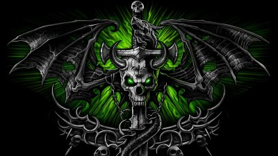 Skulls wallpaper ·① Download free awesome High Resolution backgrounds for desktop computers and ...