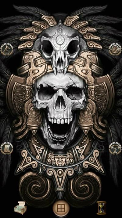 Aztec iPhone Wallpaper ·①