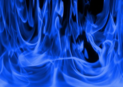 Cool Blue Fire Wallpapers ·①