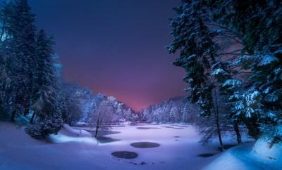 Snow Desktop Backgrounds ·①