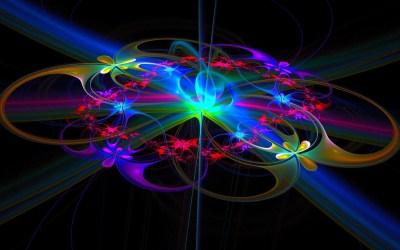 Neon Rainbow Background Designs ·①