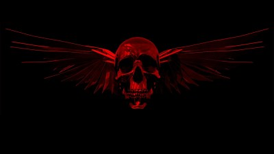 Red Skull Wallpaper ·①
