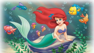 Little Mermaid wallpaper ·① Download free cool HD wallpapers for desktop, mobile, laptop in any ...