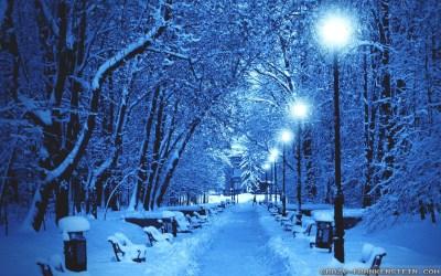 Wallpaper Winter Scenes ·①