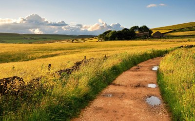 English Countryside Wallpaper ·①