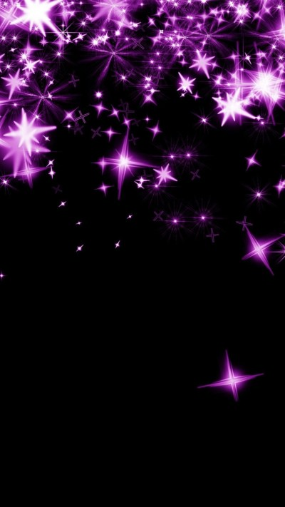 Pink Stars Wallpapers for Mobile ·①