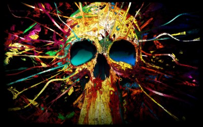 Skull background ·① Download free awesome High Resolution wallpapers for desktop, mobile, laptop ...