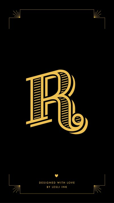 Letter R Wallpapers ·①
