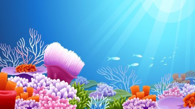 Under the Sea background ·① Download free stunning full HD backgrounds for desktop and mobile ...
