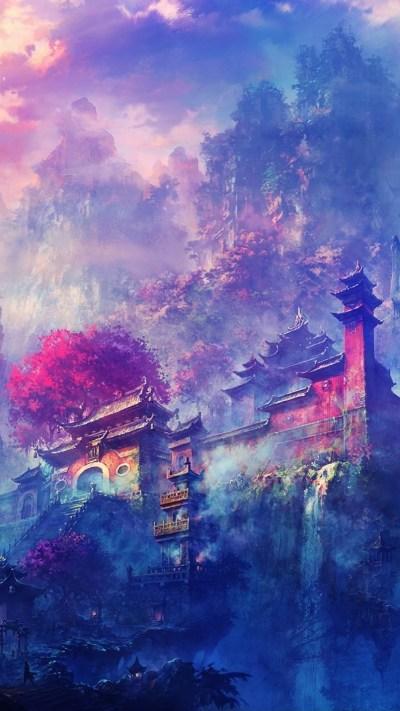 Japanese Scenery Wallpaper ·①