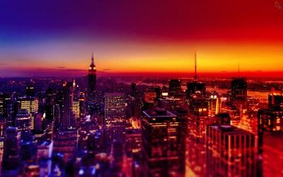 City Night Wallpaper ·①