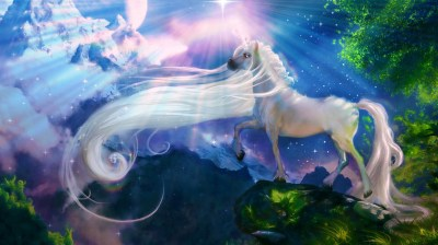 Unicorn background ·① Download free beautiful High Resolution backgrounds for desktop and mobile ...