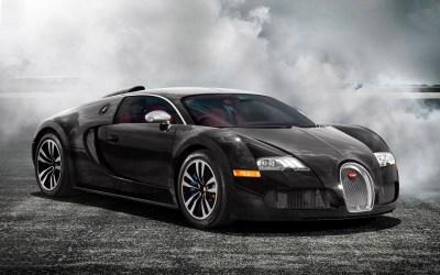 Black Bugatti Veyron Wallpaper ·①