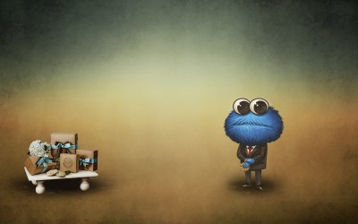 Cookie Monster Backgrounds ·①