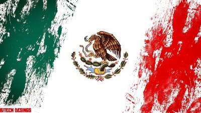 Mexico Flag Wallpaper ·①