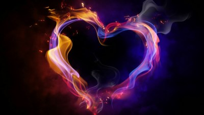 Cool Heart Wallpapers ·①