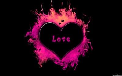 Wallpaper of Love Heart ·①